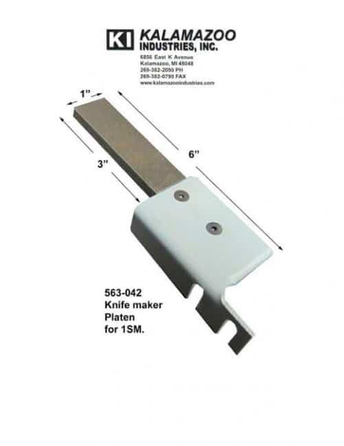 563-042 1SM knife platen